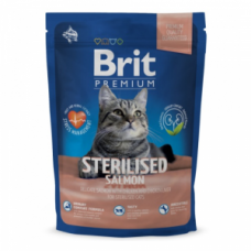 Brit Premium Cat Sterilised Salmon 1,5кг Чехия