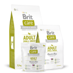 Brit Care Adult Small Breed Lamb & Rice - это гипоаллергенный корм для собак мелких пород ( 3 КГ упаковка) Чехия
